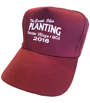 The Great Ohio Planting Hat - Maroon