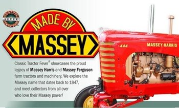 Made by Massey, produced by Classic Tractor Fever